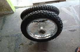 Velg set copotan klx G.. Ring 16/19