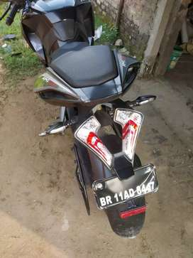 One hand used only bike pulsar 200