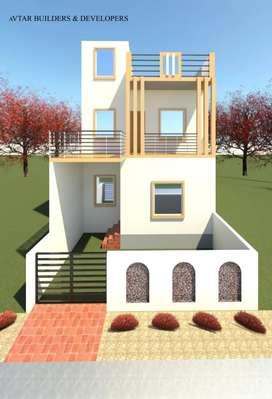 2BHK Duplex Houses for sale at Vivekananda colony