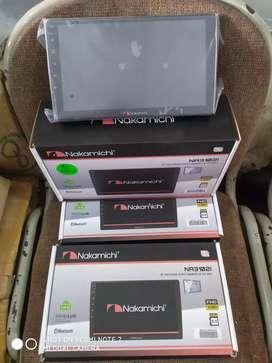 Tv android 9 inch ram 2 rom 32 boice command Nakamichi (megah top )