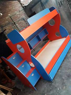 Beautiful triple whole bunk bed for kids