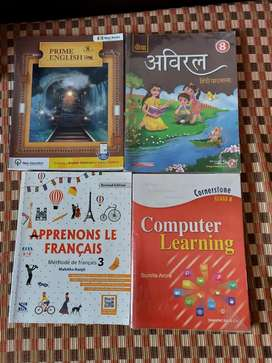 New books at discounted prices Standard VIII CBSE Books