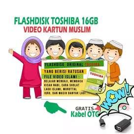 Flashdisk Video Edukasi Anak Muslim 16 GB