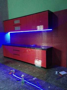 PROMO free pasang kitchenset kitchen set mini bar backdrop buffet oke