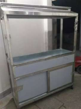 BAR BQ Counter 60*24*80 stainless steel body