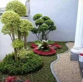 Tukang taman hijau minimalis/Kadupandak