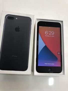 IPHONE 7+ 32 GB WITHOUT USED BRAND NEW CONDITION WITH WARRINTY