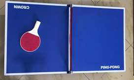 Small  table of table  tennis
