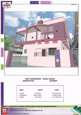 2BHK flat in a prime location of Guwahati city