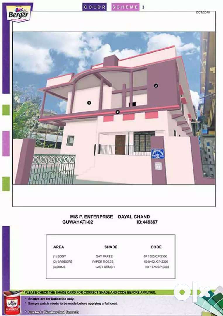 2BHK flat in a prime location of Guwahati city 0