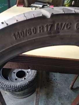 FZ tyre running 8 months