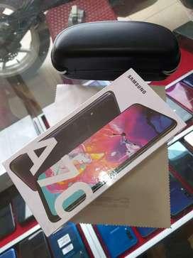 Samsung a70 black baru BNOB garansi resmi SEIN