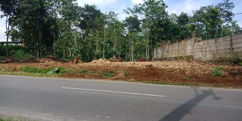 Tanah super strategis disewakan di Salatiga 1500 m SHM