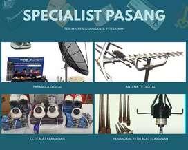 Toko lengkap pasang antena tv tanah sereal