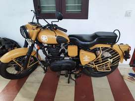 Urgent sale...1986 model 350 CC bullet modified to Clasic model..