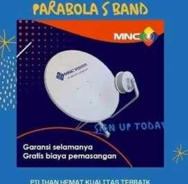 Pemasangan Parabola MNC Vision Resmi