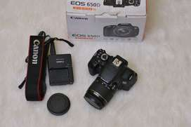 Canon Eos 650D kit 18-55mm IS