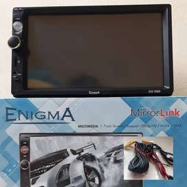 Paket head unit double din deckless enigma EG-7020