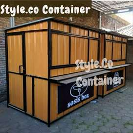 BOOTH CONTAINER CUSTOM | CONTAINER FRENCHISE | CONTAINER CAFE KEDAI