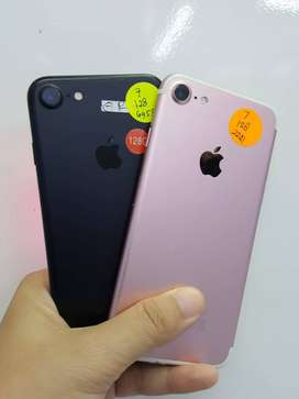 Iphone 7 128 gb All normal mulus Fullset Bergaransi!!