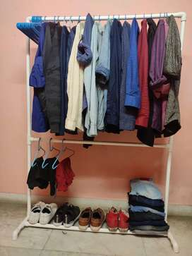Brand new Cloth Stand with 5 pair shoe rack