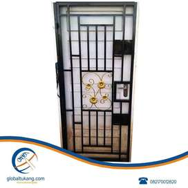 Pemasangan teralis pintu, jendela, pagar, folding gate