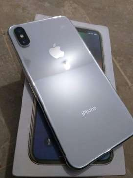 Iphon x white color PTA aproved