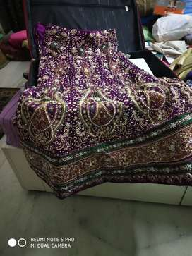 Marriage Lehanga with blouse Dupatta