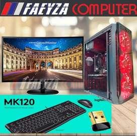 PC GAMING Intel Core I7 2600 Ram 16 Gb Vs VGA 2gb DDr5 Hemat