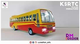 KSRTC Scaled Miniature