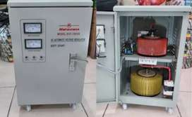Stabilizer Matsunaga SVC 10KVA 1 phase/ Matsunaga 10000w Regulator