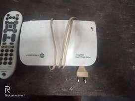 Videocon d2h set top box &remote