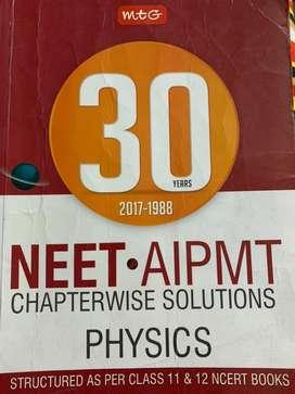 NEET PHYSICS  30 years solutions 2017-1988