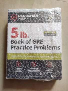 Book of GRE practice problems