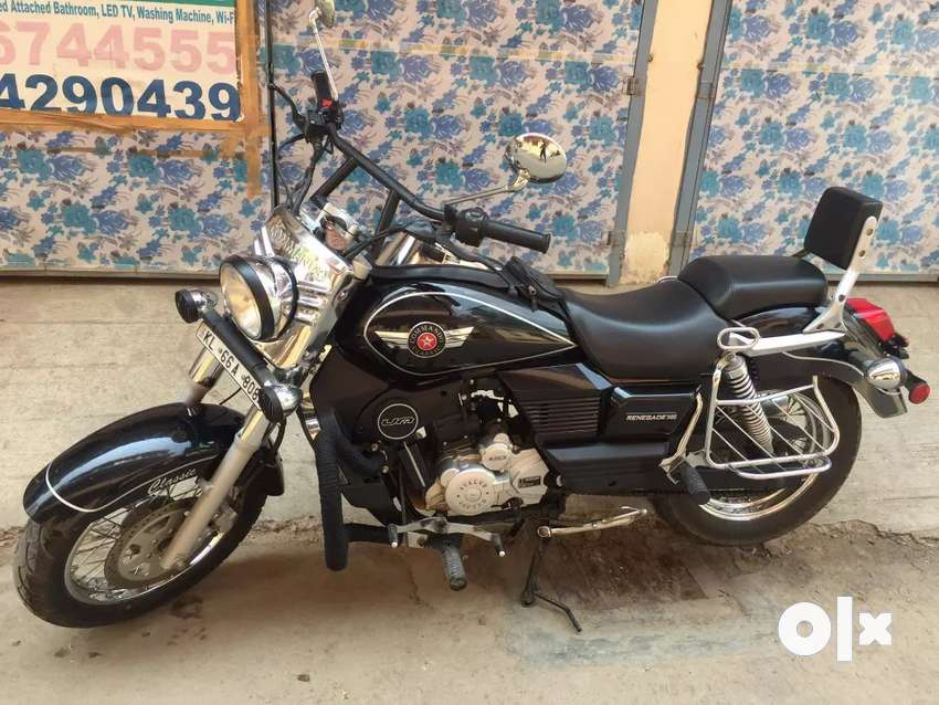 UM MOTORCYCLES RENEGADE CLASSIC (BLACK) FOR SALE 0