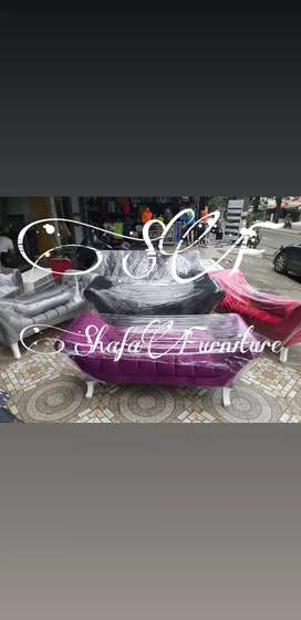 Sofa panjang model terkini