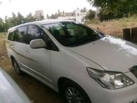 innova  Z single owner showroom condition