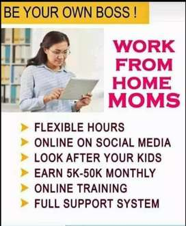 Work from home only for women's