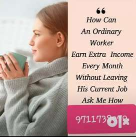 We give commitment that you can work from home and earn money
