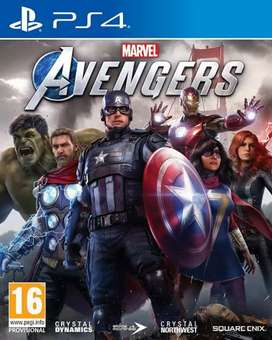 Avengers ps4 disc