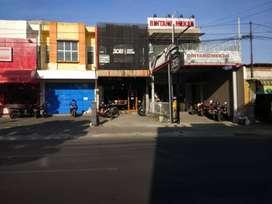 Disewakan Ruko di Jalan HR Bunyamin Purwokerto Utara