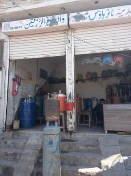1 marlah shop double story near Nadra Office Jhang Mor MuzaffarGarh