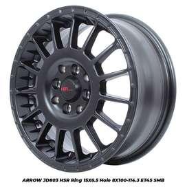 VELG KUAT JD803 HSR R15X65 H8X100-114,3 ET45 SMB