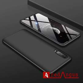GKK Armor Samsung A30S Full 360 Protective Slim Back Matte Cover Case