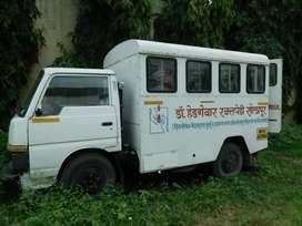 Mahindra ambulance