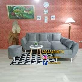Sofa retro triangle