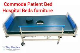 Commode system Patient Bed manual 2 function cheap hospital bed new