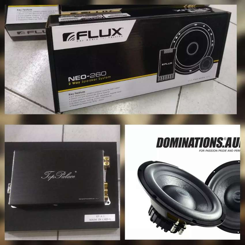 Paket Audio Prosesor Built In Power TOP PALACE, Flux Neo 0
