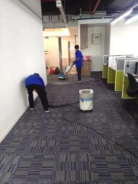 Jasa cuci karpet kantor ber garansi bersih wangi