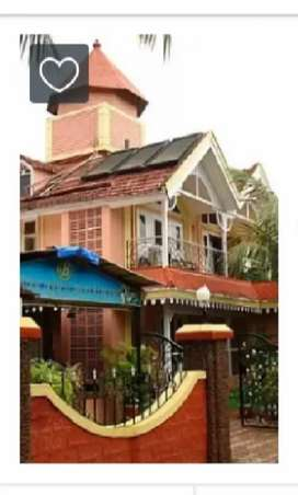 Need female Receptionist for hotel calangute Goa,